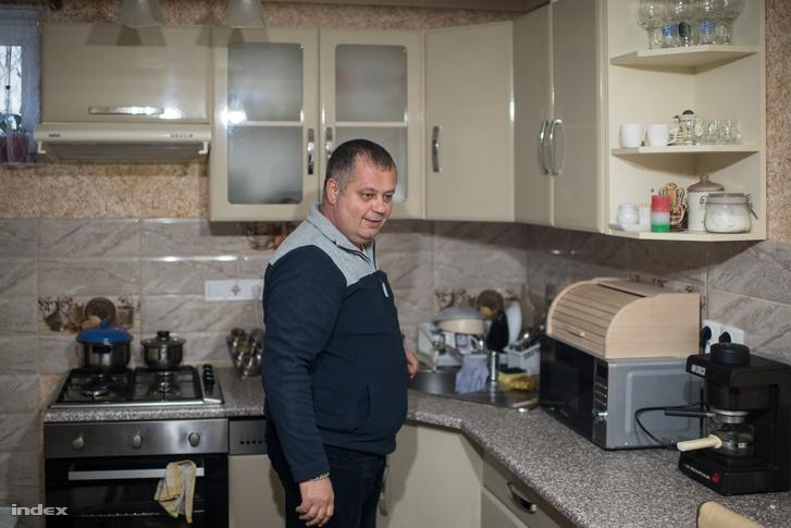 Aljohin Richárd néhány éve települt át családjával Kárpátaljáról Tarpára.