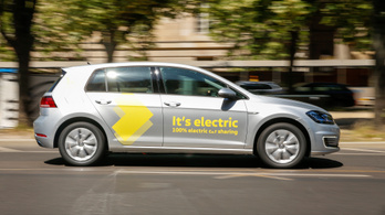 Újabb autómegosztó cég jön Budapestre, kizárólag elektromos autóik lesznek