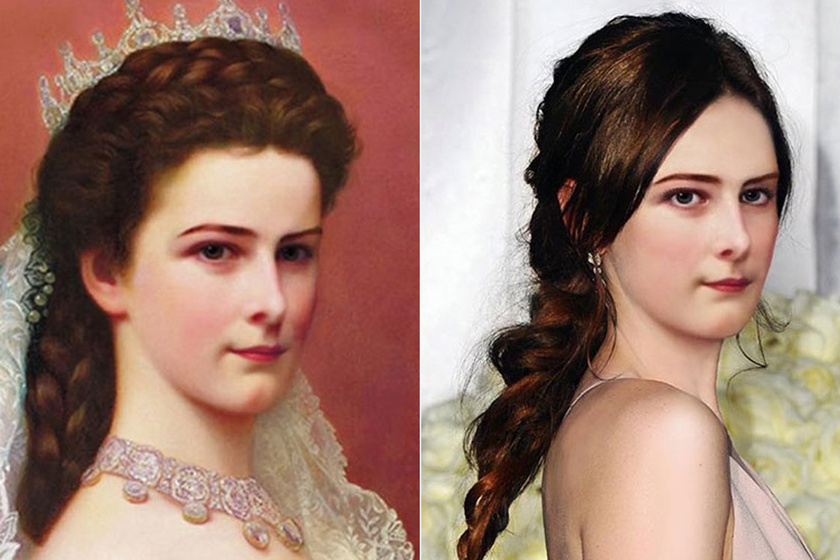 Hogy nézne ki ma Nofertiti, Marie Antoinette vagy Sissi? Lenyűgöző képeken mutatja meg a grafikus