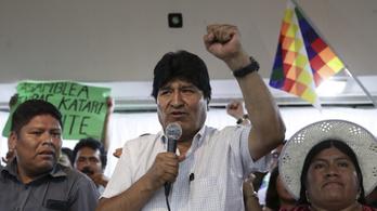 Szenátor lenne Bolívia megbuktatott elnöke, Evo Morales