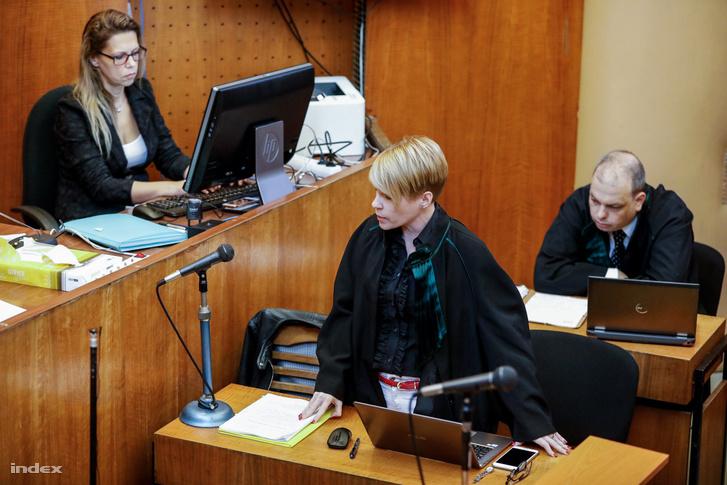 A védők a tavaly októberi tárgyaláson