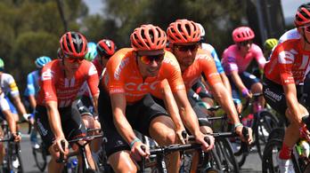 Az olimpiai bajnok bringás csapata is ott lesz a Tour de Hongrie-n