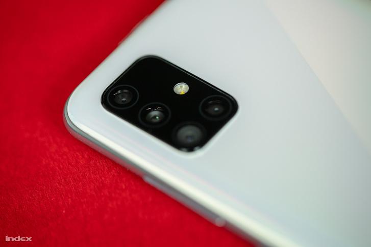 Samsung A51 kamerája