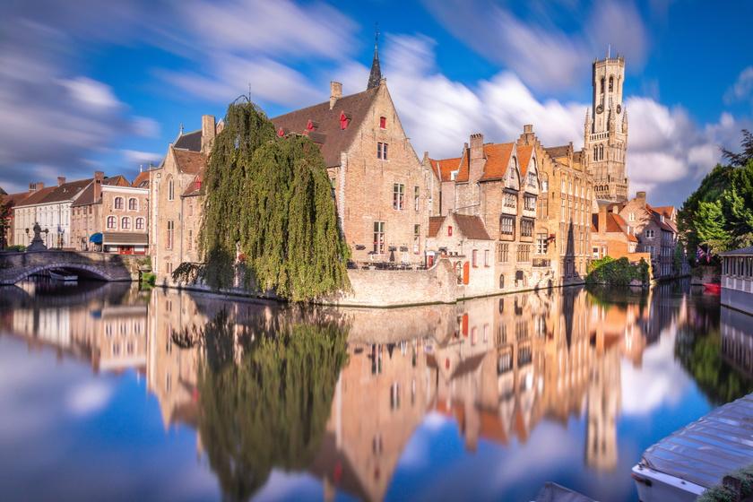 A középkorba repít Belgium ékszerdoboza: ezért kihagyhatatlan város Brugge