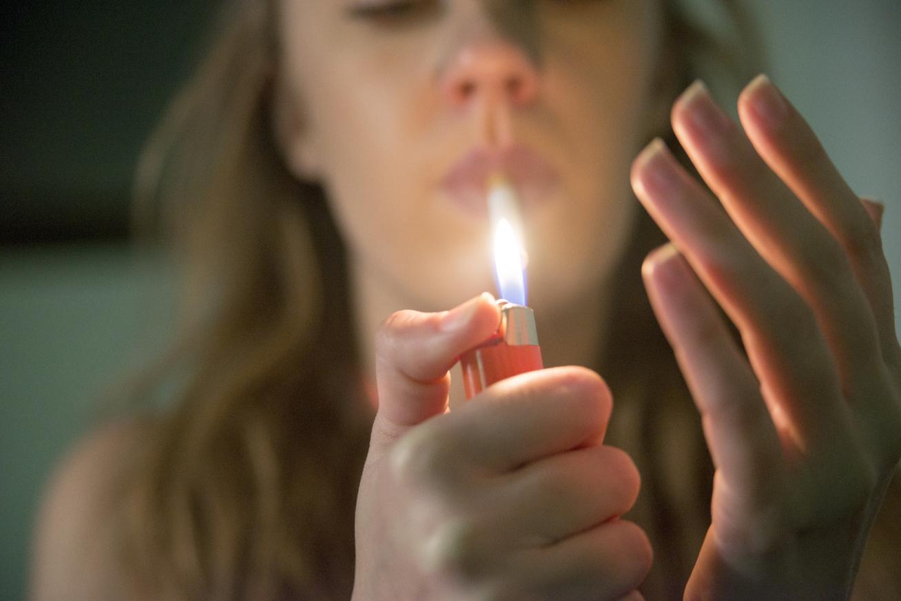 dohányzó köhögési fájdalom)