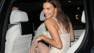 Irina Shayk volt a hétfő éjjel legszexibbje?