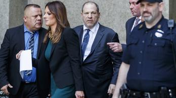 Weinstein-ügy: sírógörcsöt kapott az egyik tanú, el kellett napolni a tárgyalást