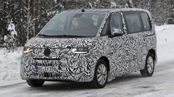 Kémfotókon a következő VW Multivan