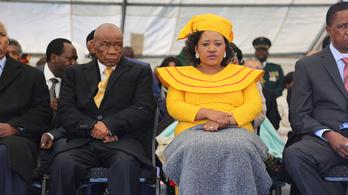 Gyilkossággal gyanúsítják a lesothói miniszterelnök feleségét