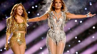 Jennifer Lopez és Shakira teljesen ingyen szórakoztatta a közönséget a Super Bowlon