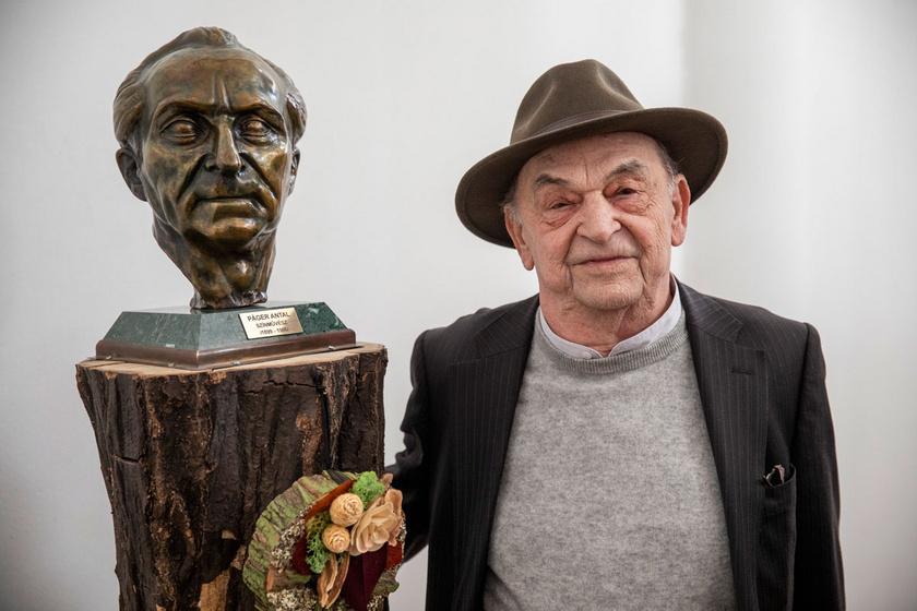 A Páger Antal-díj átadása előtt, Makón