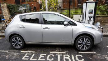 2035-től már csak elektromos és hibrid meghajtású új autót lehet venni a briteknél