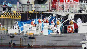 Három magyar dolgozik a Japán mellett karanténba helyezett hajón