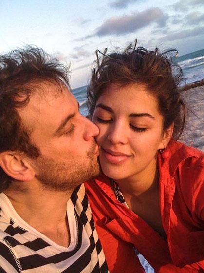A fotó 2008 decemberében készült róluk. Ez volt az első közös utazásuk, Miamiban romantikáztak.