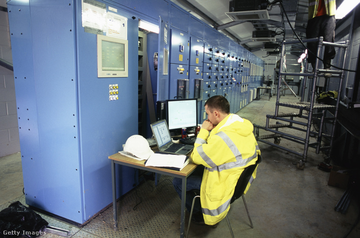 Ipari vezérlőrendszer az angliai Ramsgate szennyvíztelepen