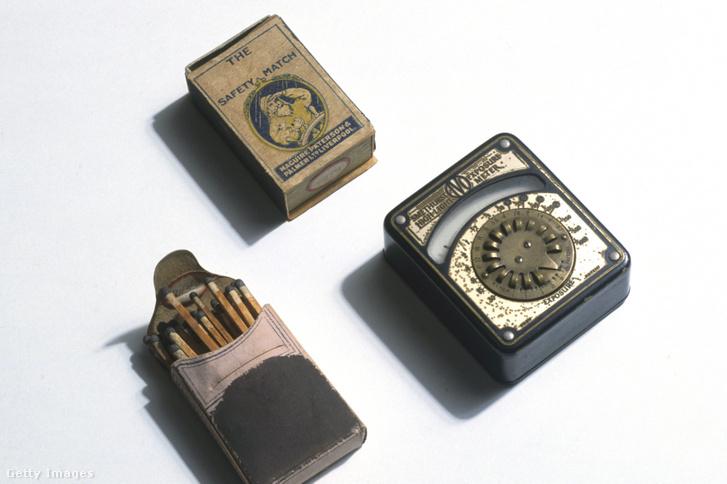 Biztonsági gyufa körülbelül az 1930-as évekből