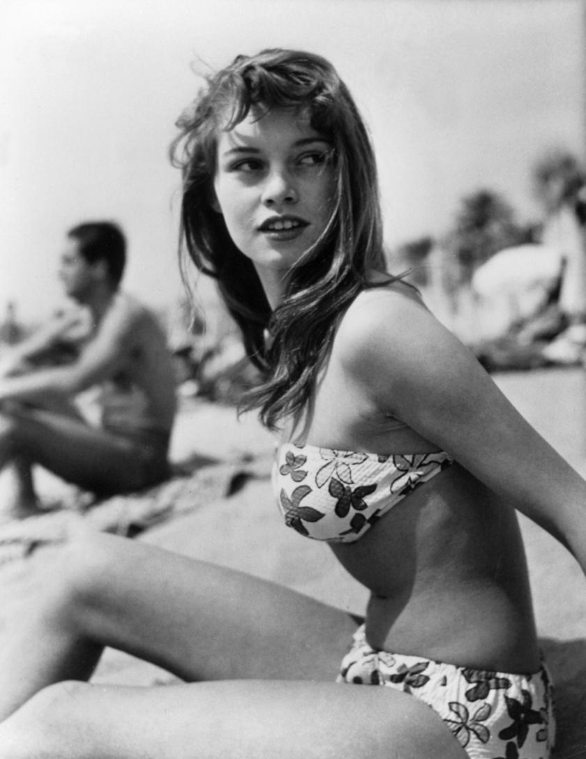 Brigitte Bardot sokat tett azért, hogy népszerűvé váljon a bikini.