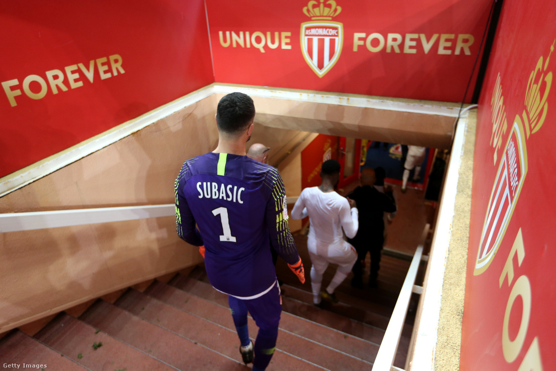 Danijel Subasic, a klub kapusa egy bajnoki vereség után