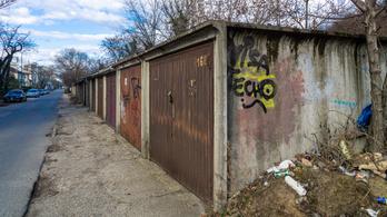 Teljes a bizonytalanság a zuglói garázssoron
