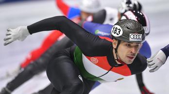 Egy évre eltiltották Burján Csabát, a f*ckin chinázó olimpiai bajnok gyorskorcsolyázót