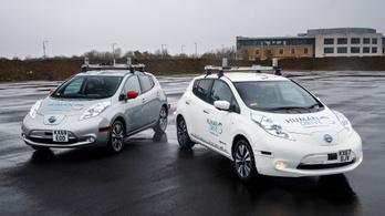 370 kilométeres utat tett meg egy önvezető Nissan Leaf