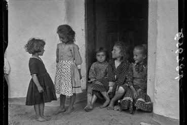 Gyerekek Pusztafaluban, 1939, Gönyey Sándor felvétele