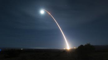 Videón a Space Force atomrakéta-tesztje