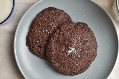Óriás csokis keksz, ahogy azt az óvodás elképzeli - Megsütöttük