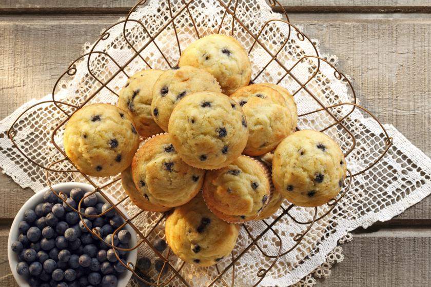 Puha, illatos áfonyás muffin – Mirelit gyümölcsből is tökéletes lesz