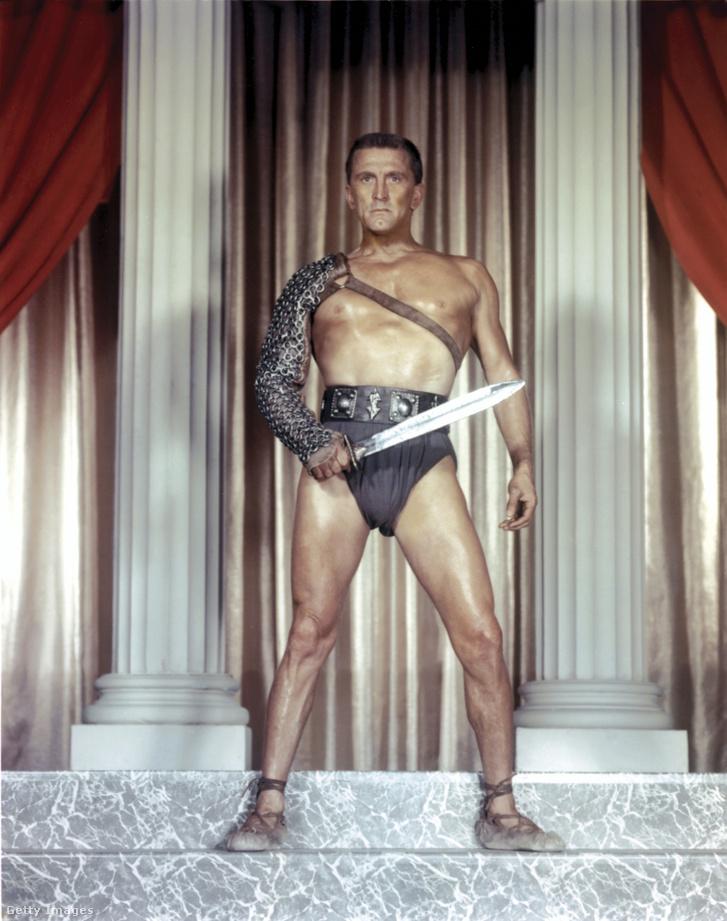 Spartacus szerepében