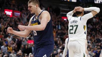 Szerb óriás játszott észbontót az NBA-ben