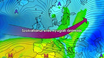 Erős széllel kezdődik a jövő hét, hétfőn megbillenhet a Balaton vízszintje