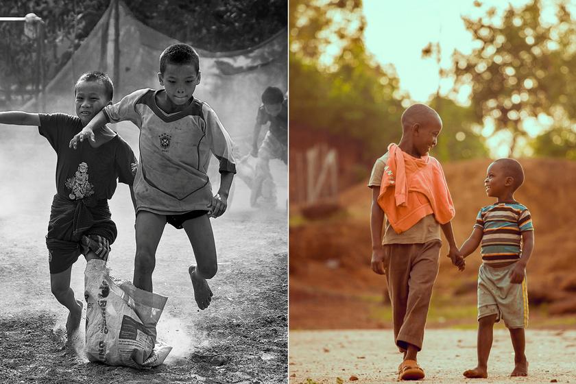 Az árvaházban felnőtt gyermekeknek ez jelenti a valódi boldogságot: gyönyörű fotókon a barátság ereje