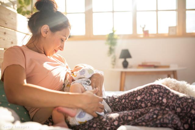 A szoptatás az egyik legbensőségesebb élmény