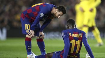 Vége lehet a 105 milliós Barca-csatár idényének