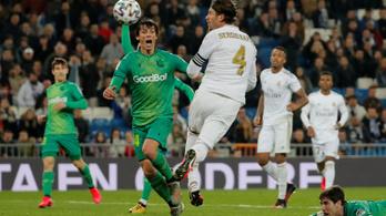 Későn jött a feltámadás, kiesett a Real Madrid a Spanyol Kupából