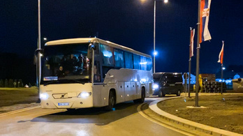 Asylum seekers demonstrated at the Hungarian-Serbian border demanding safe passage to Western Europe