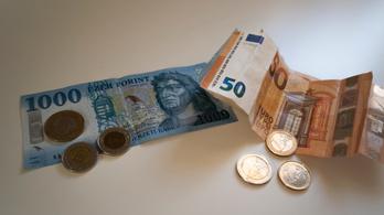 Újabb történelmi mélypont: 1 euró 339,26 forint