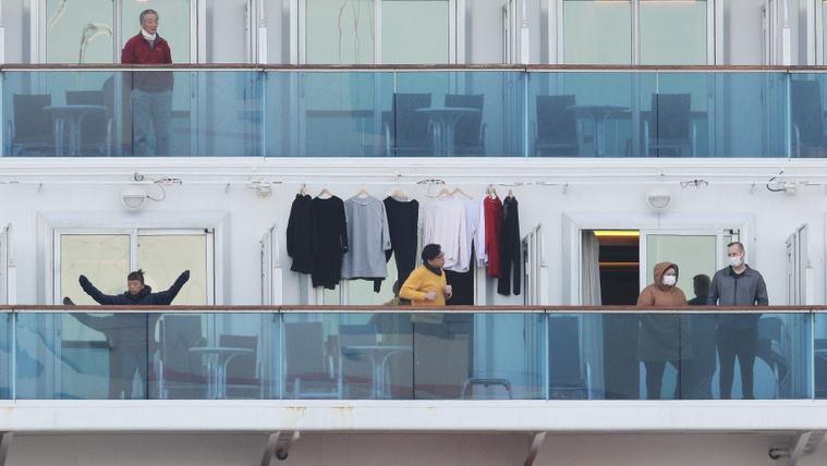 Élet egy szállodahajón, karanténban
