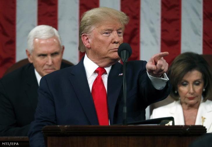 Donald Trump évértékelő beszéde 2020. február 4-én
