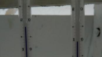 Megdőlt az antarktiszi melegrekord
