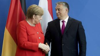 Hétfőn fogadja Merkel Orbánt
