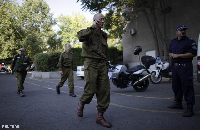 Izraeli katonák érkeztek Burgaszba