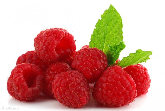 stockfresh 297703 raspberries sizeM