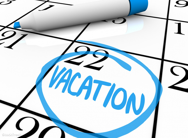 stockfresh 469806 calendar---vacation-day-circled sizeM
