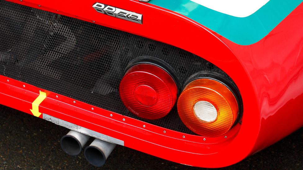 Ferrari 512 BB LM. Eredetileg a North American Racing Team készített négy darabot a 440 lóerős gépből