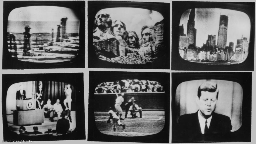 1962. július 23-án délután beindult az első nyilvános transzkontinentális, nemzetközi tévéadás. Hat kocka az Amerikából Európába sugárzott műsorból. Európában az Eurovision, Észak-Amerikában az NBC, CBS, ABC és a CBC tévétársaságok vettek részt a közös adásban. Televíziós képeket sugároztak élőben illetve felvételről többek között a floridai űrközpontról, New Yorkról, Párizsról, Kennedy elnökről, a Philadelphia Phillies - Chicago Cubs baseballmeccsről. Este sikeresen sor került az első műholdas telefonhívásra és faxküldésre is.