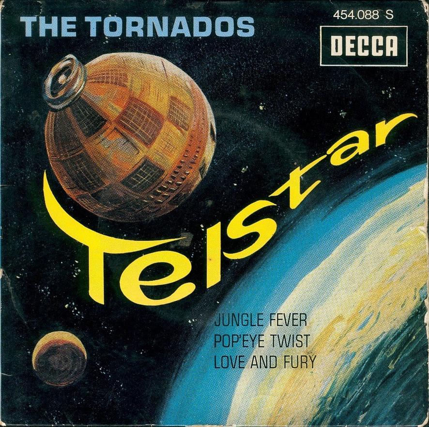 A The Tornados lemezének borítója, főszerepben a Telstar.