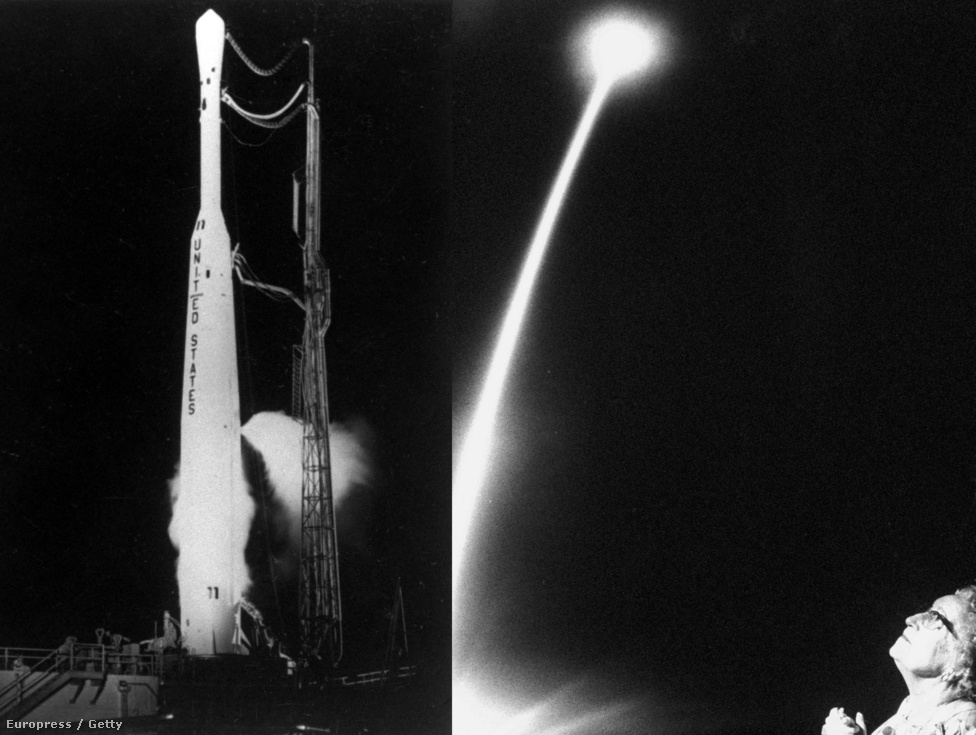1962. július 10-én, egy Delta-Thor rakéta segítségével Föld körüli pályára állt a Telstar-I.