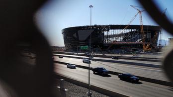 Űrállomásnak is beillik a 2 milliárd dolláros vegasi NFL-stadion